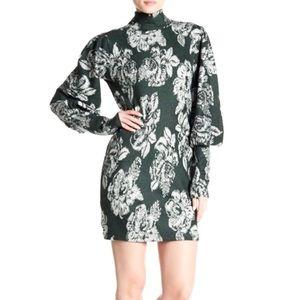 Free People Farrah Wool Blend mini dress